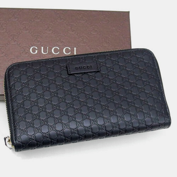 882326972747 Gucci Bags | Nwt Microssima Leather Wallet 449391 | Poshmark